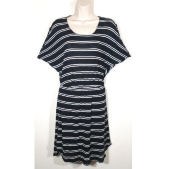 Splendid Dresses & Skirts - SPLENDID Women Blouson Striped Knit Dress 1012E1